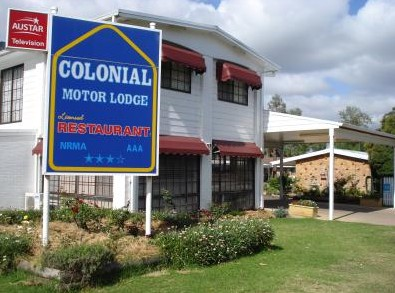 Colonial Motor Lodge - Accommodation Gladstone