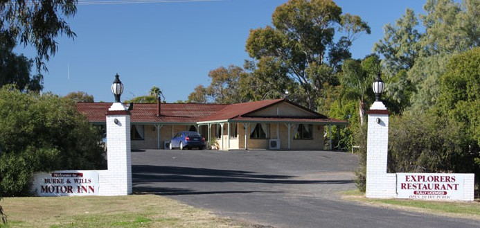 Burke and Wills Motor Inn - Moree - Accommodation Gladstone
