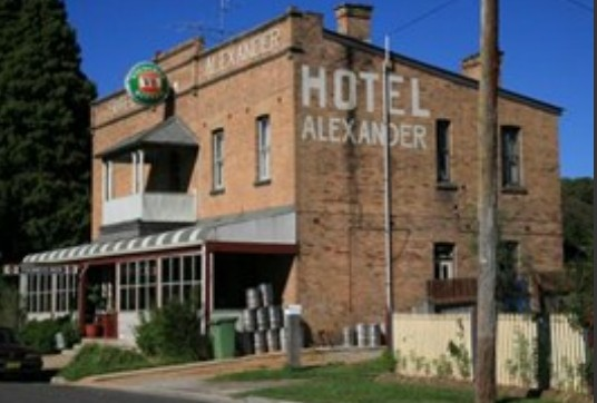 Alexander Hotel Rydal - Accommodation Gladstone