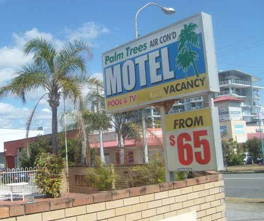 Palm Trees Motel - Accommodation Gladstone