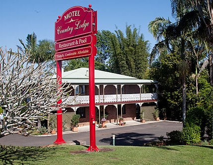 Country Lodge Motel - Accommodation Gladstone