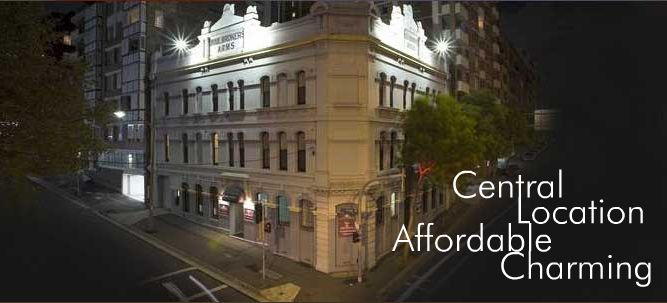 Woolbrokers Hotel - Accommodation Gladstone