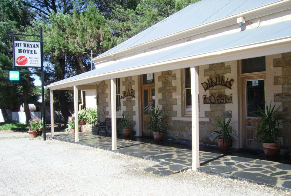 Mount Bryan Hotel - Accommodation Gladstone