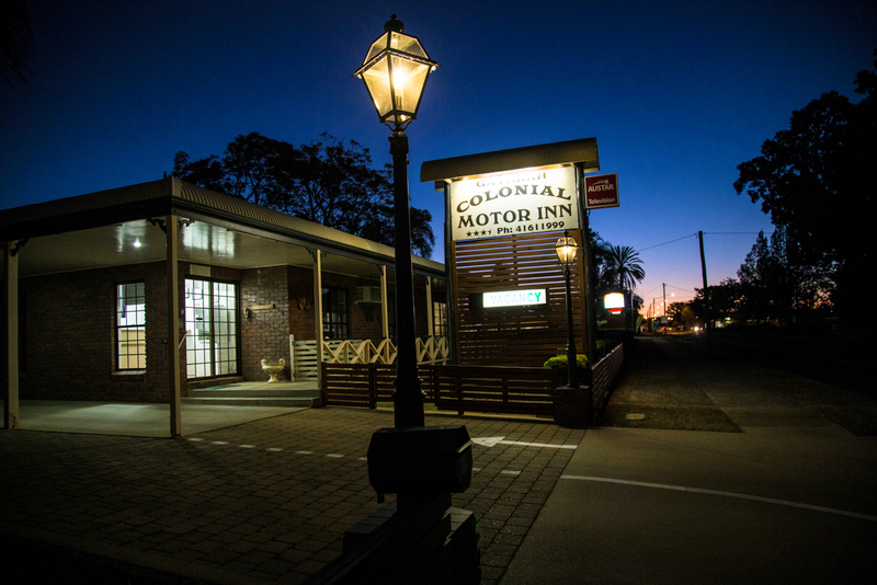 Gayndah Colonial Motor Inn - Accommodation Gladstone