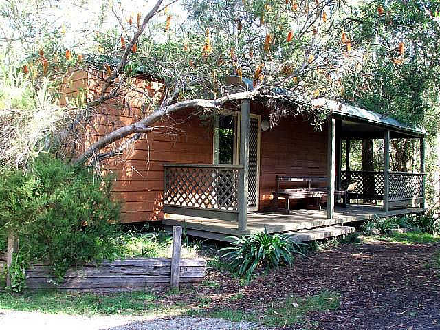Jervis Bay Cabins  Hidden Creek Real Camping - Accommodation Gladstone