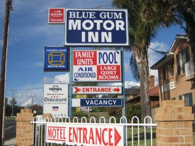 Blue Gum Motor Inn - Accommodation Gladstone