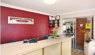 Country Capital Motel - Accommodation Gladstone