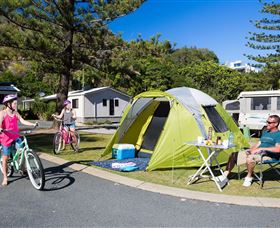 Ocean Beach Tourist Park - Accommodation Gladstone