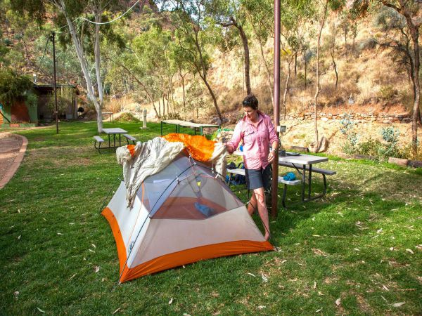 Standley Chasm Angkerle Camping - Accommodation Gladstone