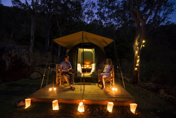 Keswick Island Camping And Glamping - Accommodation Gladstone