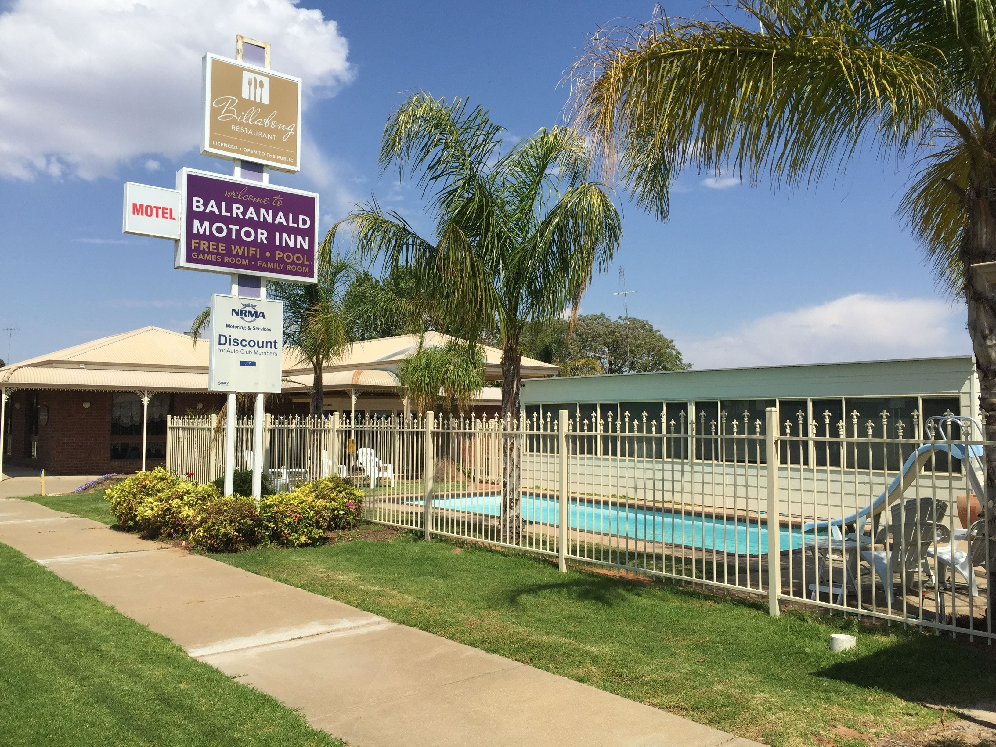 Balranald Motor Inn - Accommodation Gladstone