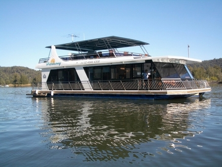Able Hawkesbury River Houseboats - Accommodation Gladstone