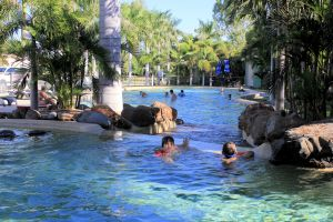 Big4 Aussie Outback Oasis Holiday Park - Accommodation Gladstone