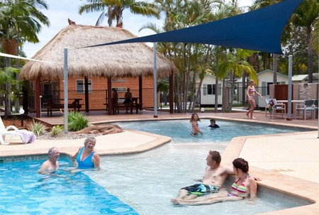 Blue Dolphin Resort  Holiday Park - Accommodation Gladstone
