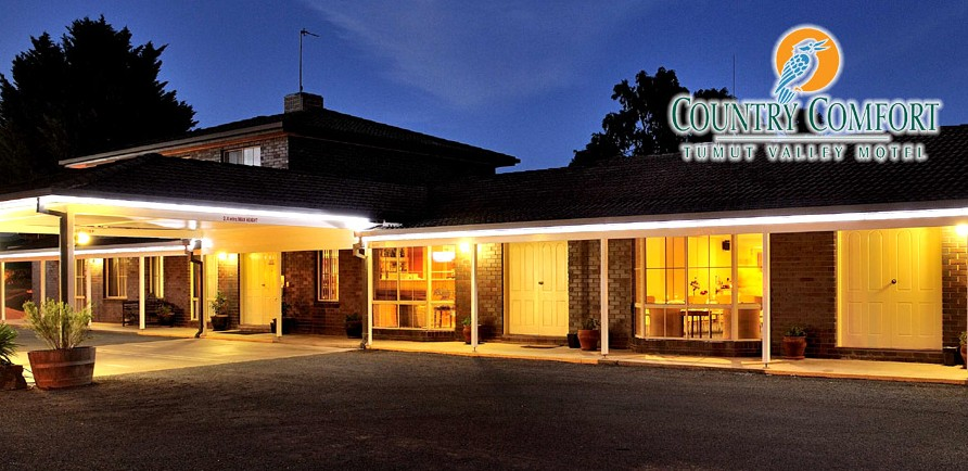 Country Comfort Tumut Valley Motel - Accommodation Gladstone