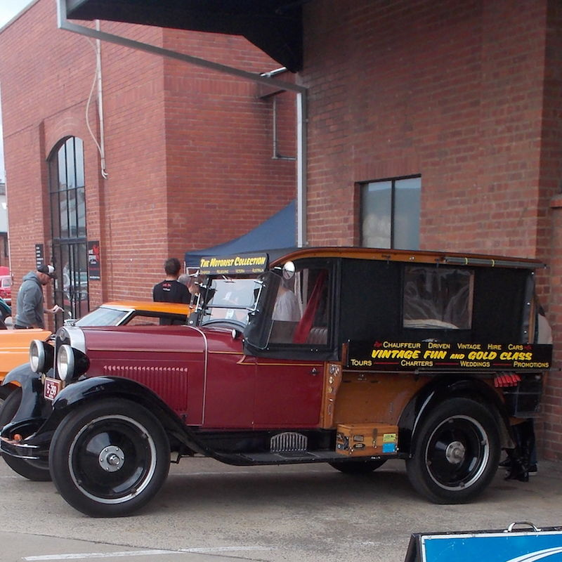 Vintage Fun Hire Cars - Accommodation Gladstone