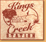 Kings Creek Station - Accommodation Gladstone