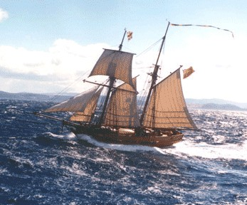 Enterprize - Melbourne's Tall Ship - Accommodation Gladstone