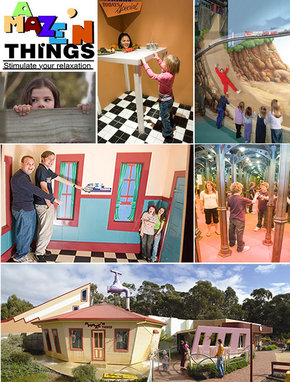 A Maze 'N Things - Accommodation Gladstone
