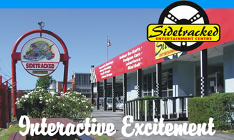 Sidetracked Entertainment Centre - Accommodation Gladstone