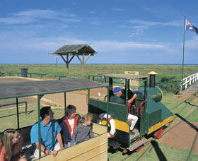 Carnarvon Tramway - Accommodation Gladstone
