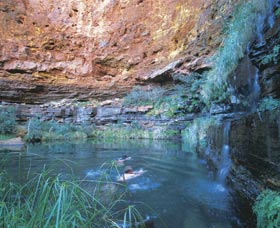 Dales Gorge and Circular Pool - Accommodation Gladstone
