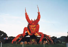 The Big Lobster - Accommodation Gladstone