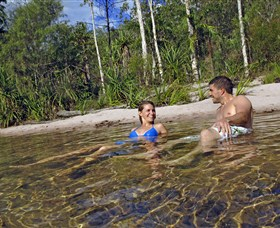 Tjaynera/Sandy Creek Falls - Accommodation Gladstone