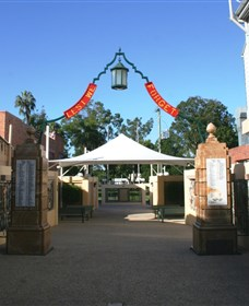 Gympie and Widgee War Memorial Gates - Accommodation Gladstone