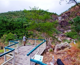 Jourama Falls Paluma Range National Park - Accommodation Gladstone