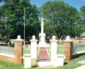 Boonah War Memorial and Memorial Park - Accommodation Gladstone