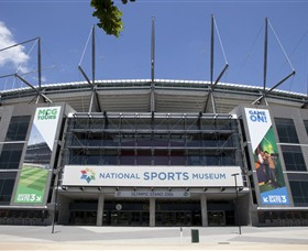 National Sports Museum at the MCG - Accommodation Gladstone