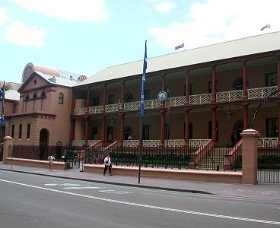 Parliament House - Accommodation Gladstone