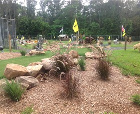 The Cove Miniature Golf Course - Accommodation Gladstone