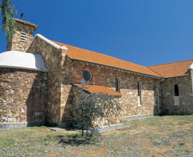 Holy Cross Church - Accommodation Gladstone