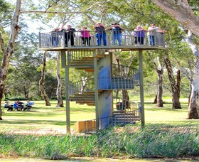 Darling and Murray River Junction and Viewing Tower - Accommodation Gladstone