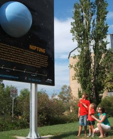 Worlds Largest Virtual Solar System Drive - Accommodation Gladstone