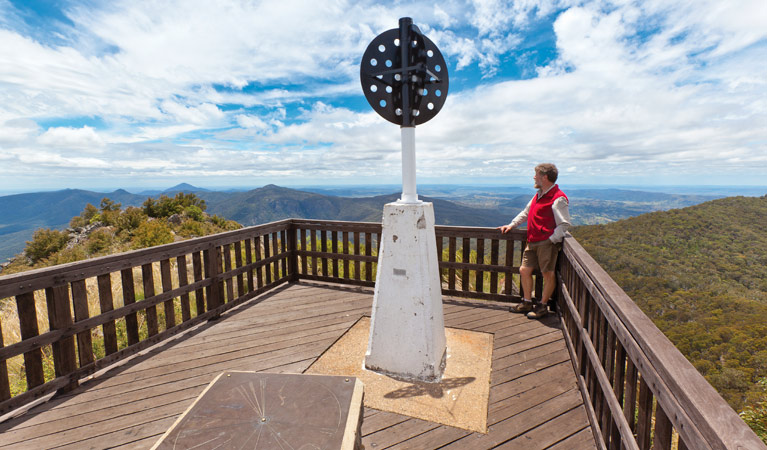 Mount Kaputar summit walk - Accommodation Gladstone
