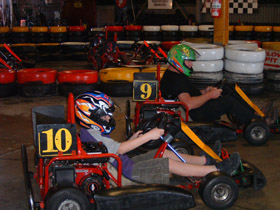 Indoor Kart Hire O'Connor - Accommodation Gladstone
