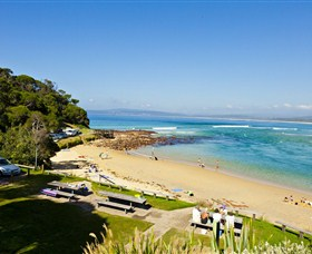 Merimbula Bar Beach - Accommodation Gladstone