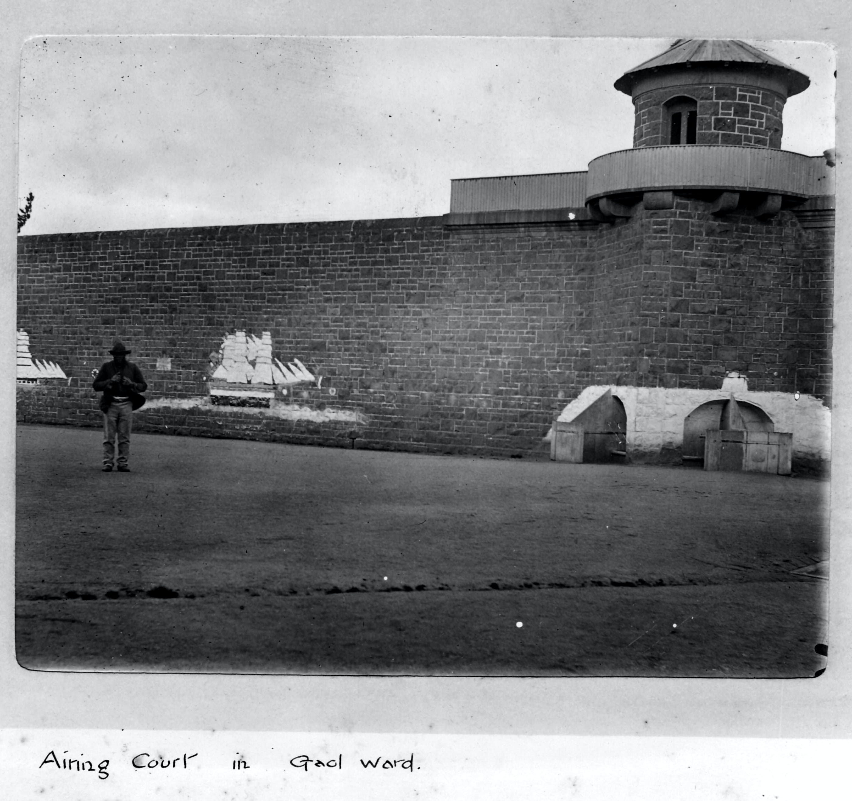 J Ward Ararat's Old Gaol and Lunatic Asylum - Accommodation Gladstone