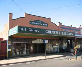 Grenfell Art Gallery - Accommodation Gladstone