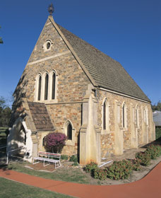 Uniting Church - York - Accommodation Gladstone