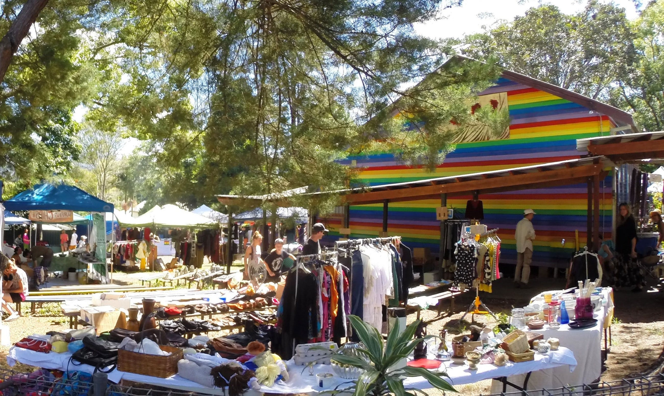 Nimbin Markets - Accommodation Gladstone