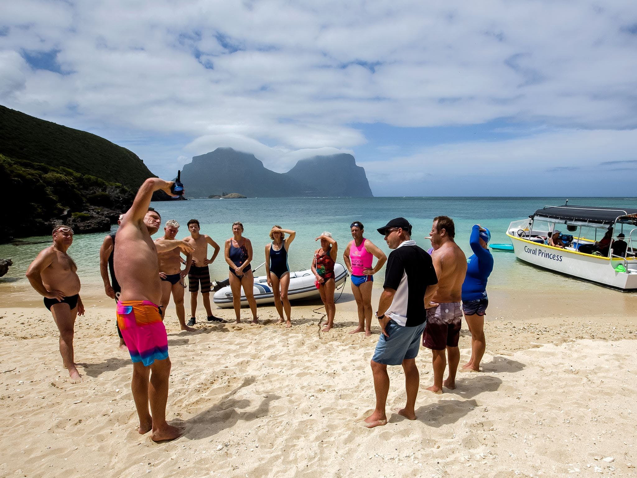 Ocean Swim Week with Trevor Hendy Pinetrees Lord Howe Island - Accommodation Gladstone