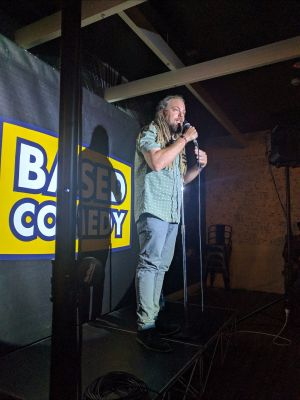 Based Comedy at The Palm Beach Hotel - Accommodation Gladstone