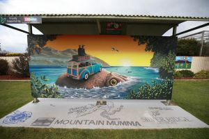 Davies Construction International Mural Fest - Accommodation Gladstone