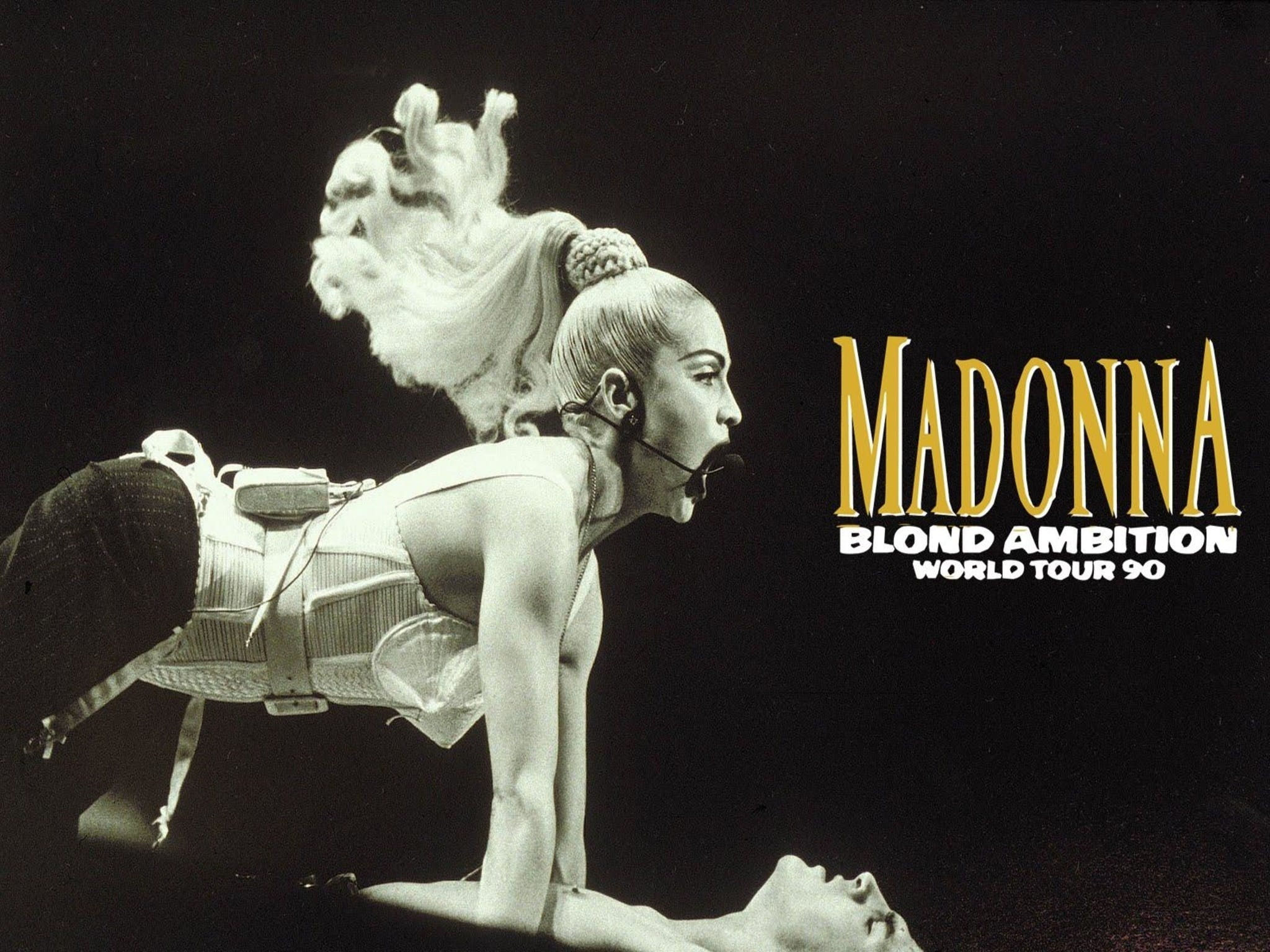Madonna Blond Ambition Tour - Accommodation Gladstone