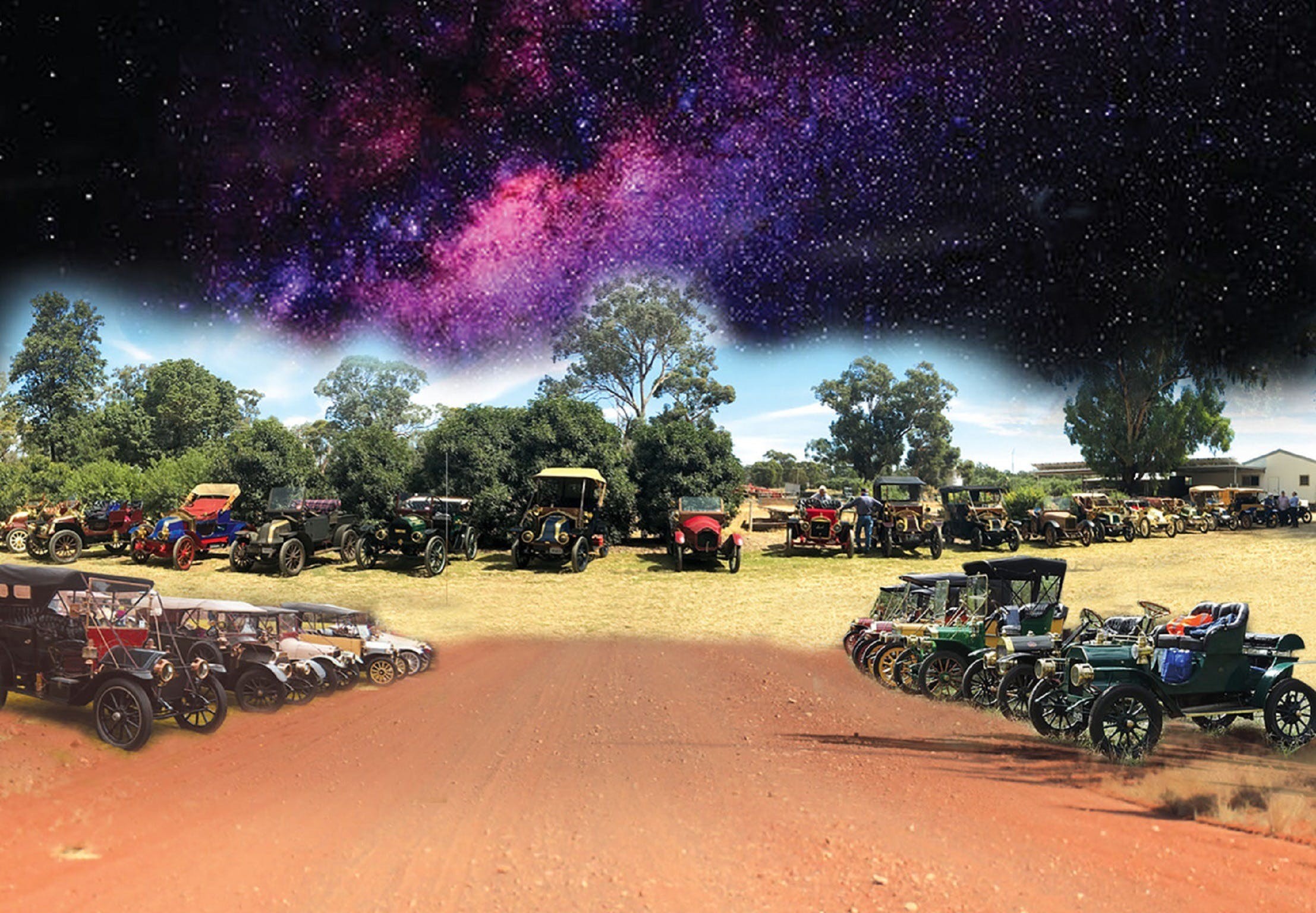 National Veteran 1 and 2 Cylinder Rally - Accommodation Gladstone