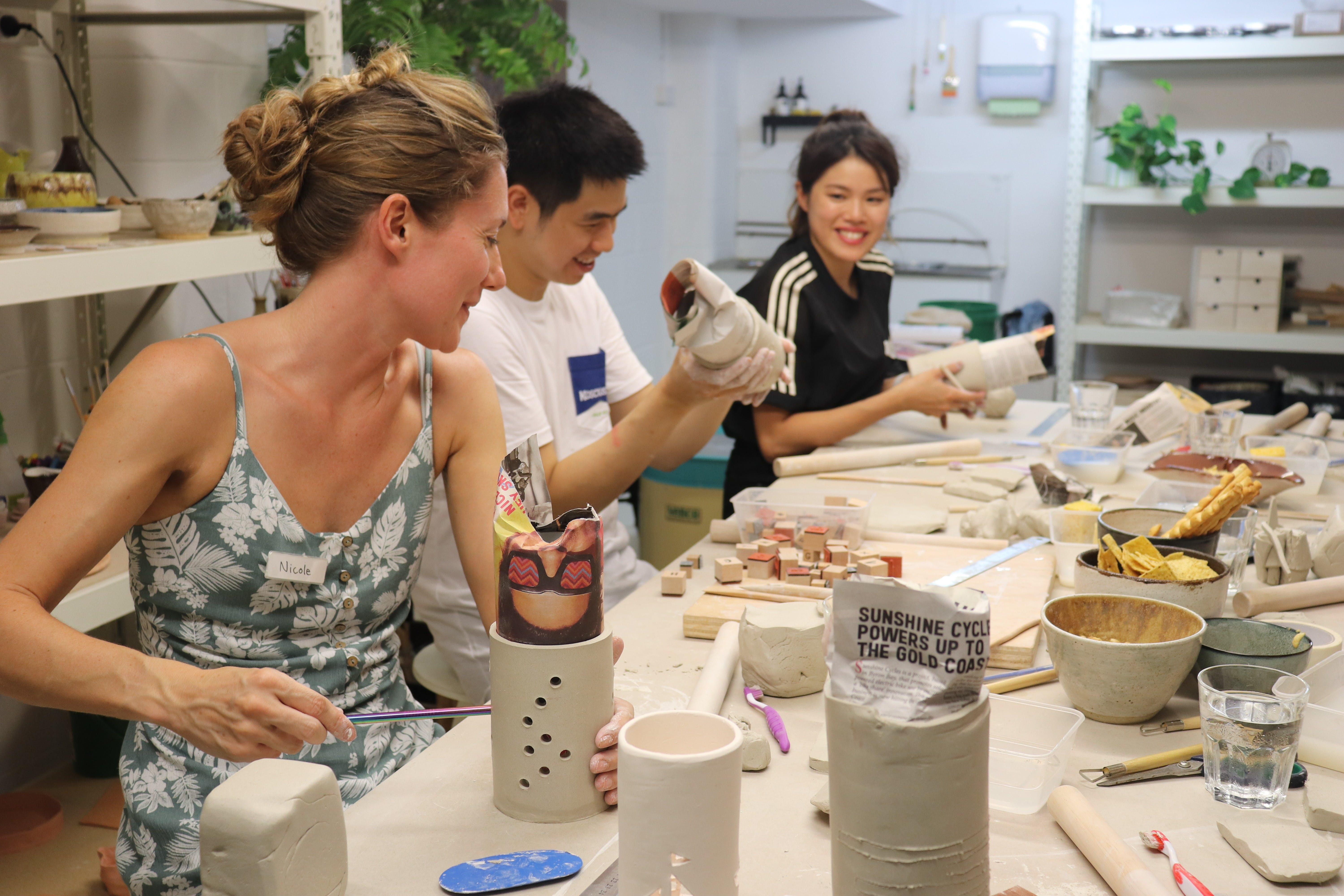 Hand Building Pottery Classes - Accommodation Gladstone